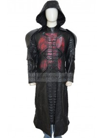 Ronan The Accuser Guardians of The Galaxy Hooded Leather Coat