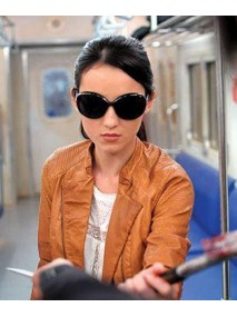 Hammer Girl The Raid 2 Julie Estelle Leather Jacket