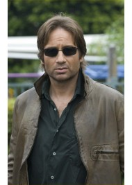 Californication Hank Moody Brown Leather Jacket
