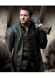 Hansel and Gretel Jeremy Renner Leather Jacket