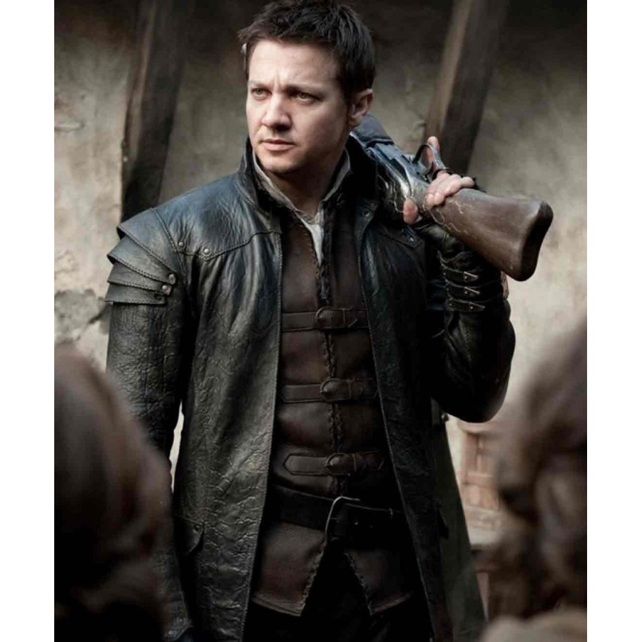 Hansel and Gretel Leather Jacket | Witch Hunters Jacket