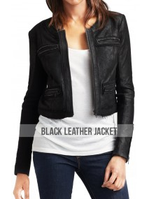 Rachel Bilson Hart of Dixie Zoe Hart Leather Jacket