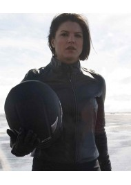 Haywire Gina Carano Ladies Leather Motorcycle Jacket