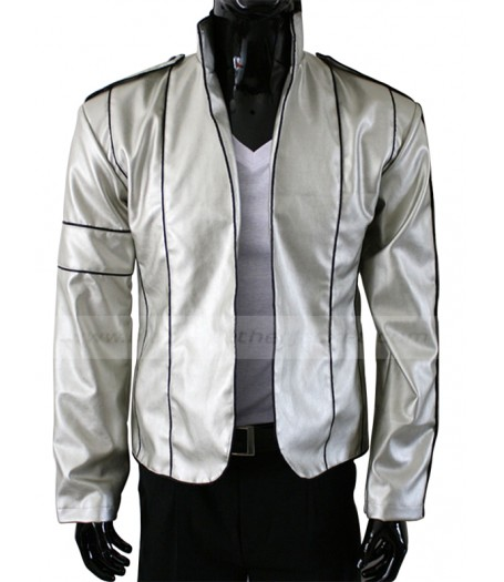 Heal The World Concert Michael Jackson Silver Jacket