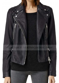 Homeland TV Series Laura Sutton Leather Jacket