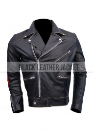 Hot Tub Time Machine Lou Dorchen 80's Leather Jacket