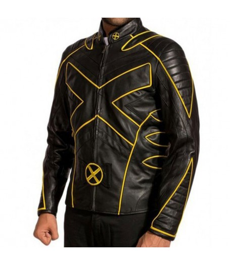 Wolverine X-Men The Last Stand Motorcycle Leather Jacket