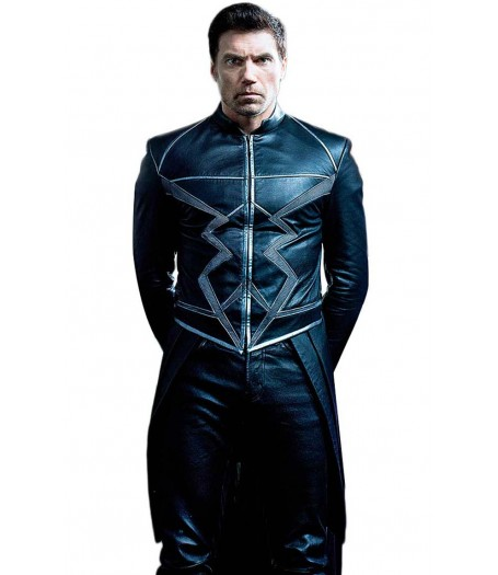 Black Bolt Inhumans Leather Jacket