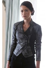 Faye Kingslee Intelligence TV Series Mei Chen Jacket