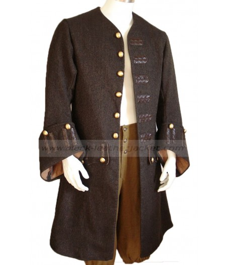 Pirates of The Caribbean Captain Jack Sparrow Coat