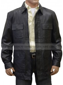 Jack Walsh Midnight Run Robert De Niro Leather Jacket
