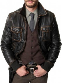 Jamie Dornan Once Upon A Time Leather Jacket