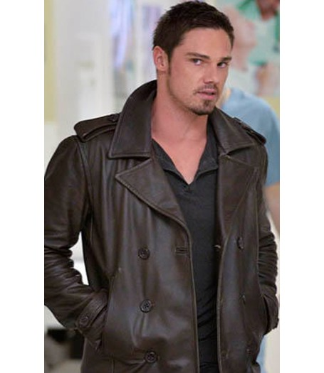 Jay Ryan Beauty and The Beast Leather Jacket
