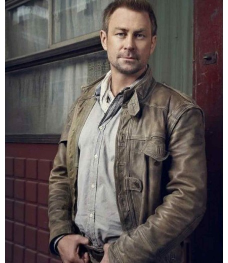 Jeb Nolan Defiance Grant Bowler Leather Jacket
