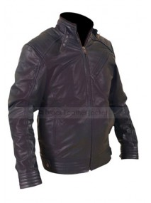 Jeremy Renner Bourne Legacy Black Leather Jacket