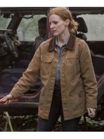 Jessica Chastain Film Interstellar Jacket