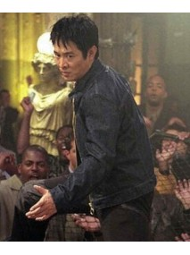 Jet Li Cradle 2 The Grave Su Black Leather Jacket