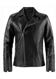 Johnny Blaze Ghost Rider Biker Leather Jacket