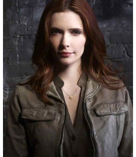Juliette Silverton Grimm Bitsie Tulloch Leather Jacket