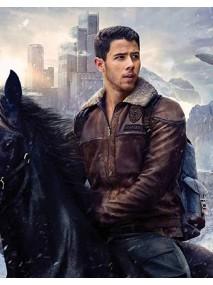 Nick Jonas Jumanji 3 Flight Jacket