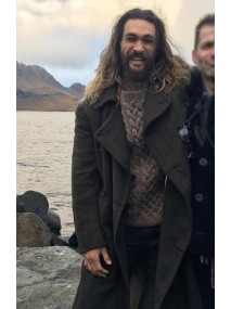 Jason Momoa Justice League Aquaman Coat