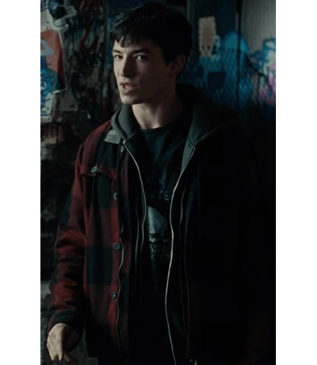 Barry Allen Justice League Jacket