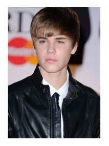 Justin Bieber Slim fit Style Black Leather Jacket