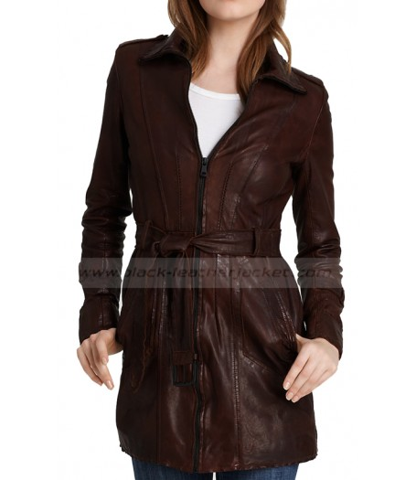 Castle TV Series Kate Beckett Trench Coat