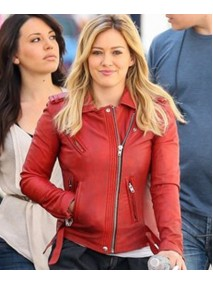 Kelsey Younger American TV Series Hilary Duff Leather Jacket