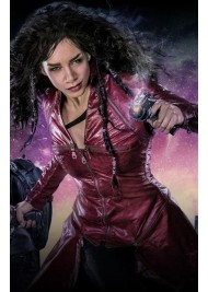 Hannah John Kamen Killjoys Dutch Leather Trench Coat