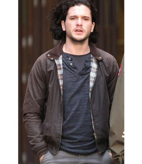 Kit Harington Spooks The Greater Good Jacket
