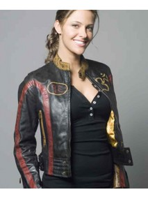 Krista Starr Blade The Series Jill Wagner Leather Jacket
