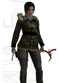 Lara Croft Rise of The Tomb Raider Bomber Jacket