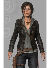 Lara Croft Rise of The Tomb Raider Jacket with Hoodie
