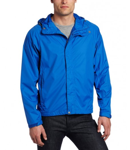 Mens Lightweight Waterproof Rain Jacket With Hood