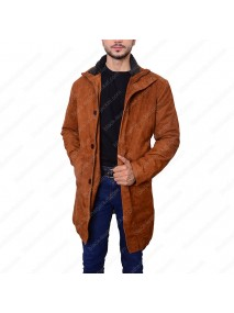 Robert Sheriff Longmire Suede Leather Coat