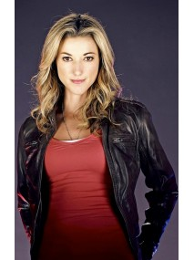 Lost Girl Lauren Lewis Black Leather Jacket