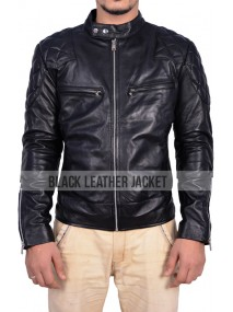 Mads Mikkelsen Hannibal Black Leather Jacket