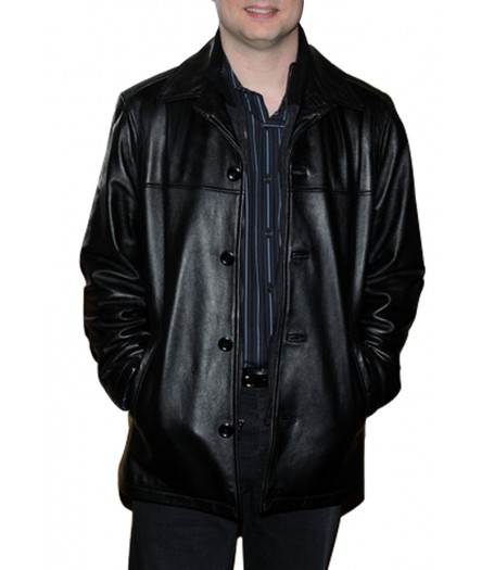 Paul Blart Mall Cop 2 Kevin James Black Leather Jacket
