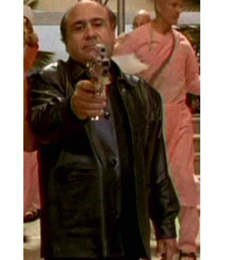 Martin Weir Get Shorty Danny Devito Leather Jacket