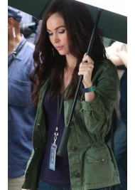 Megan Fox Green Jacket