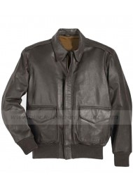 A2 Leather Flight Jacket