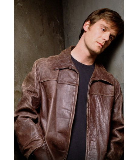 Michael C. Six Feet Under Leather Jacket