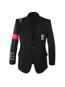 Michael Jackson Informal Bad Buckle Blazer Jacket