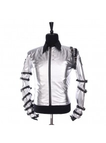 Michael Jackson Bad Tour Satin Jacket