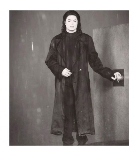Michael Jackson Stranger in Moscow Trench Coat