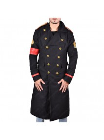 Michael Jackson Military Wool Trench Coat