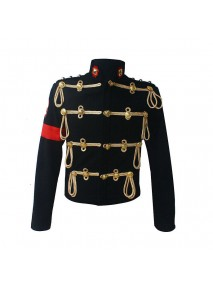 Michael Jackson Royal Military Style Woolen Jacket