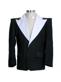 Michael Jackson Human Nature Black Tuxedo Jacket