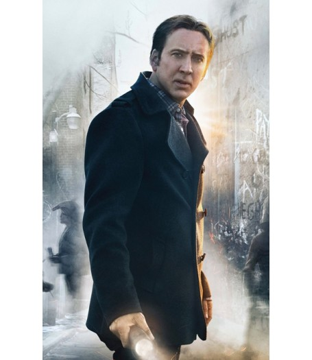 Nicolas Cage Pay The Ghost Mike Lawford Coat